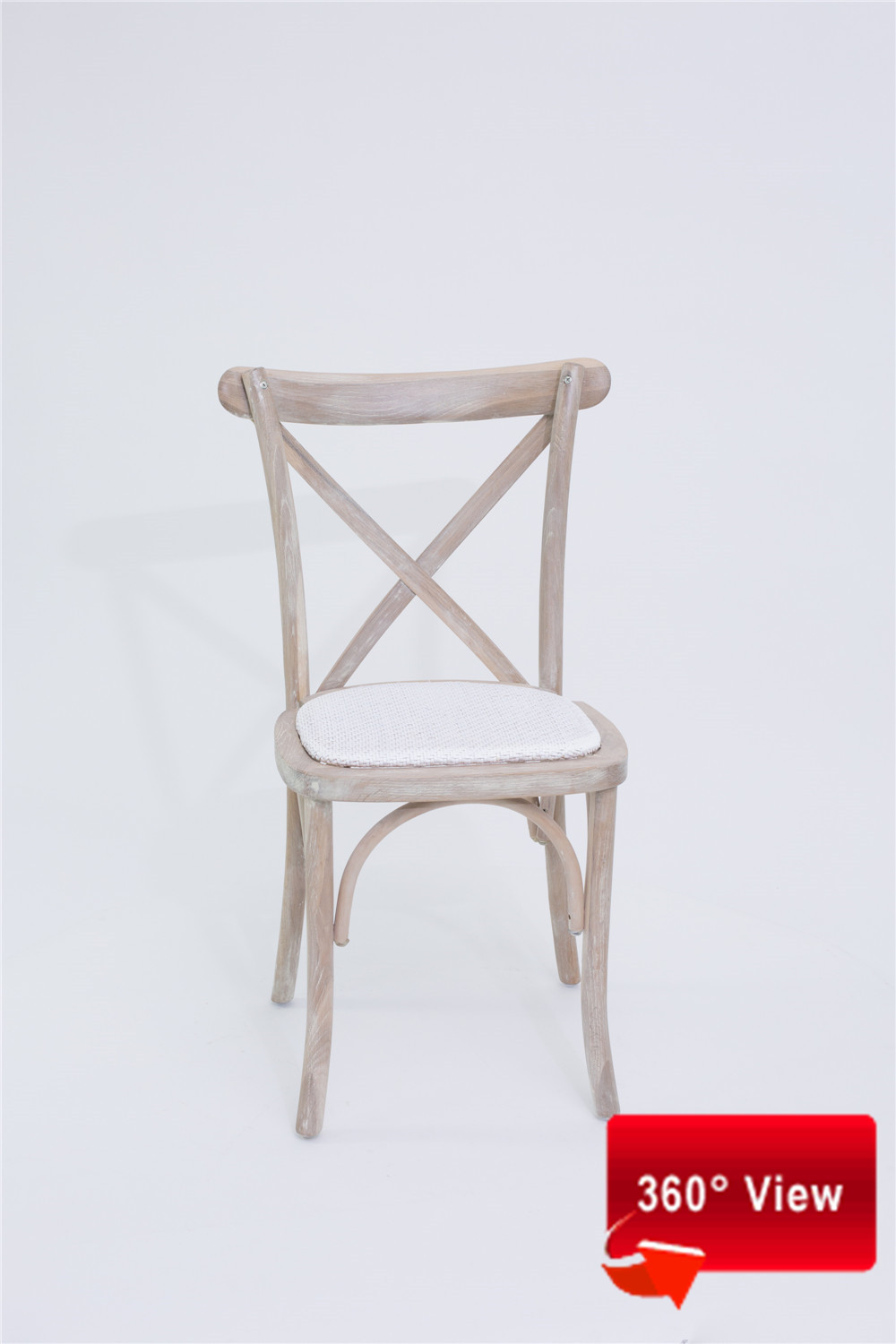 S-9002T RATTAN SEAT CROSS BACK CHAIR