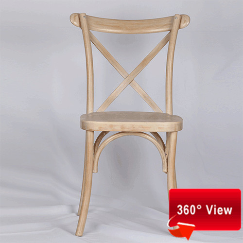 ZS-9002 LIMEWASH CROSS BACK CHAIR